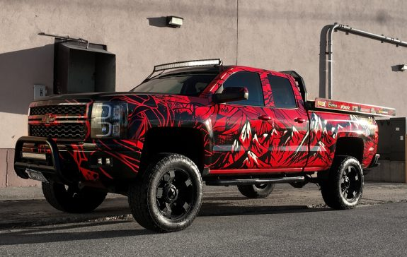 Mike Truck wrap